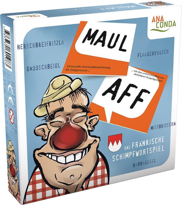 4297 Maulaff Das fraenkische Schimpfwoerterspiel
