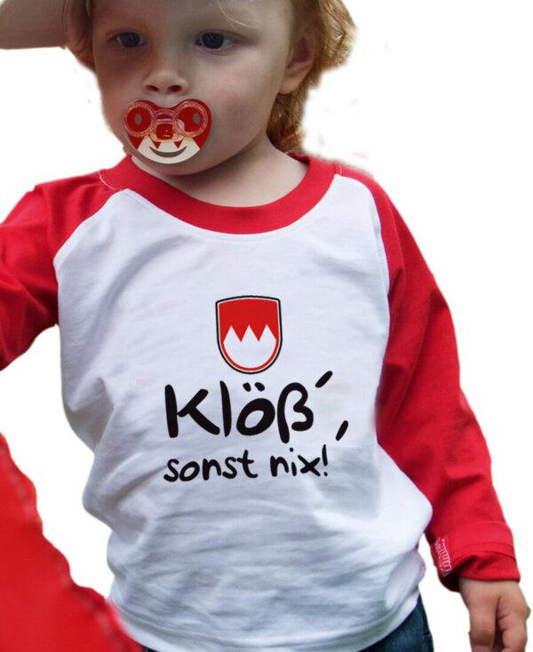 Klöß sonst nix! T-Shirt für Kinder
