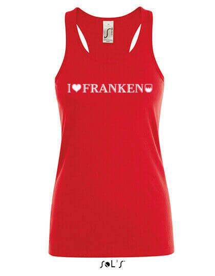 4355 I love Franken Muscle Shirt
