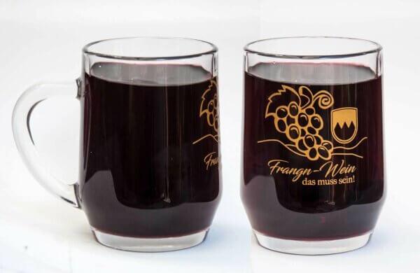Weinkrug bzw. Weinglas Frangn-Win