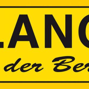 Aufkleber Erlangen - ...und der Berg ruft!