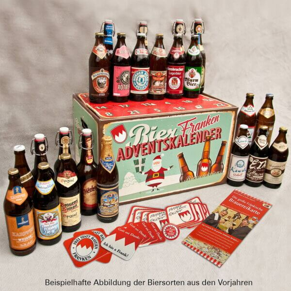 Fränkischer Bieradventskalender