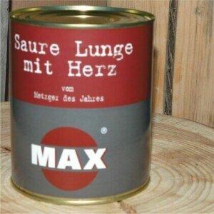 MAX Saure Lunge mit Herz in der Dose
