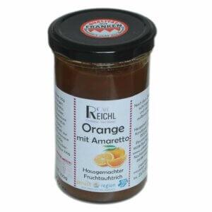 Orangenaufstrich mit Amaretto