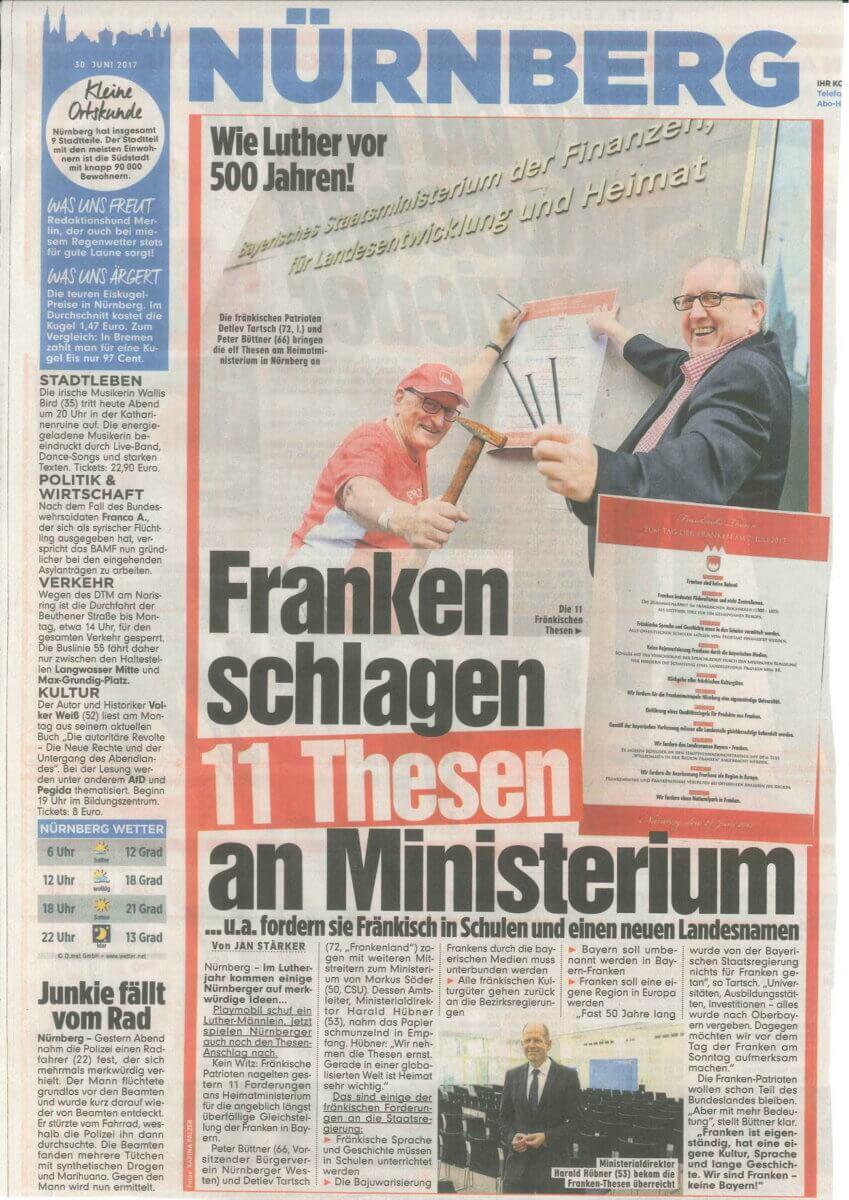 presse franken schlagen 11 thesen ministerium 062017
