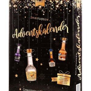 Spirituosen Adventskalender von Dr. Rauch mit 24 Likör-Minis